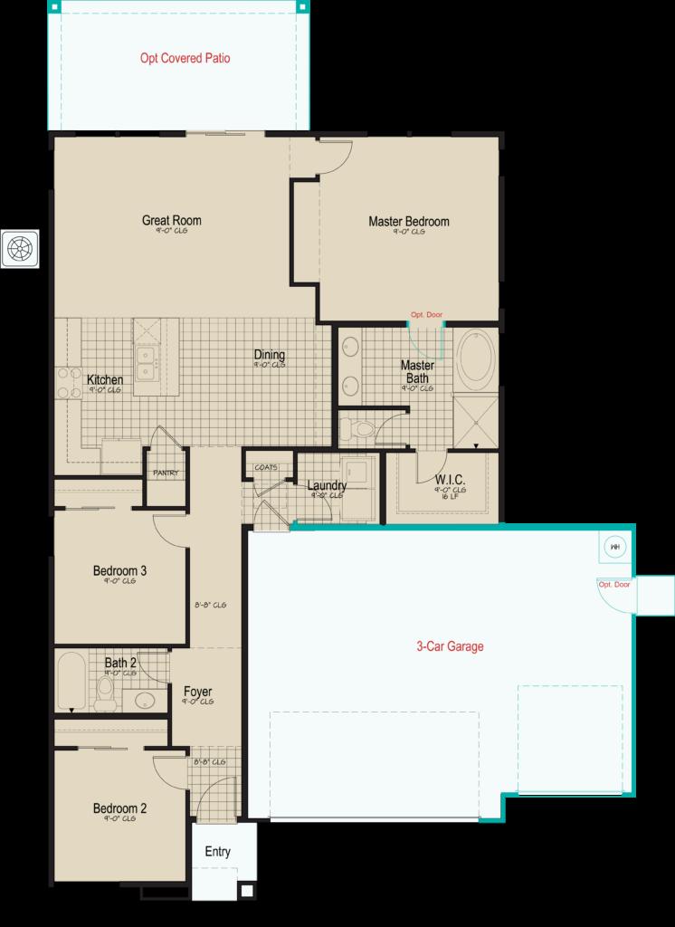 Blackstone • Floorplan • Plan 1-1469