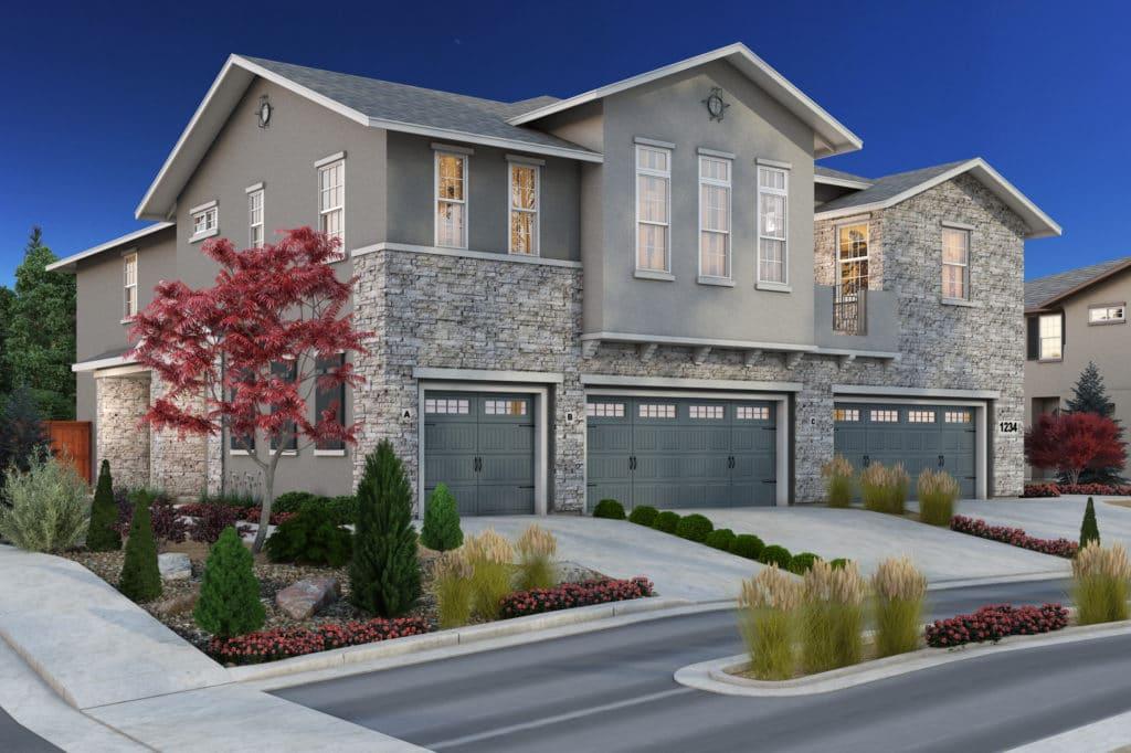 New home in Village Northwest