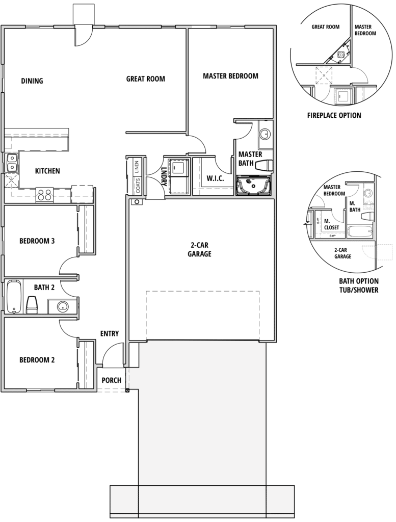 Ponderosa floorplan 2