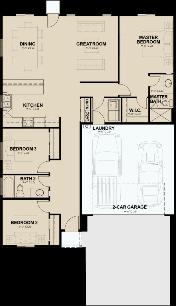 Flats-at-Ponderosa-Plan-2-1441-base-floorplan