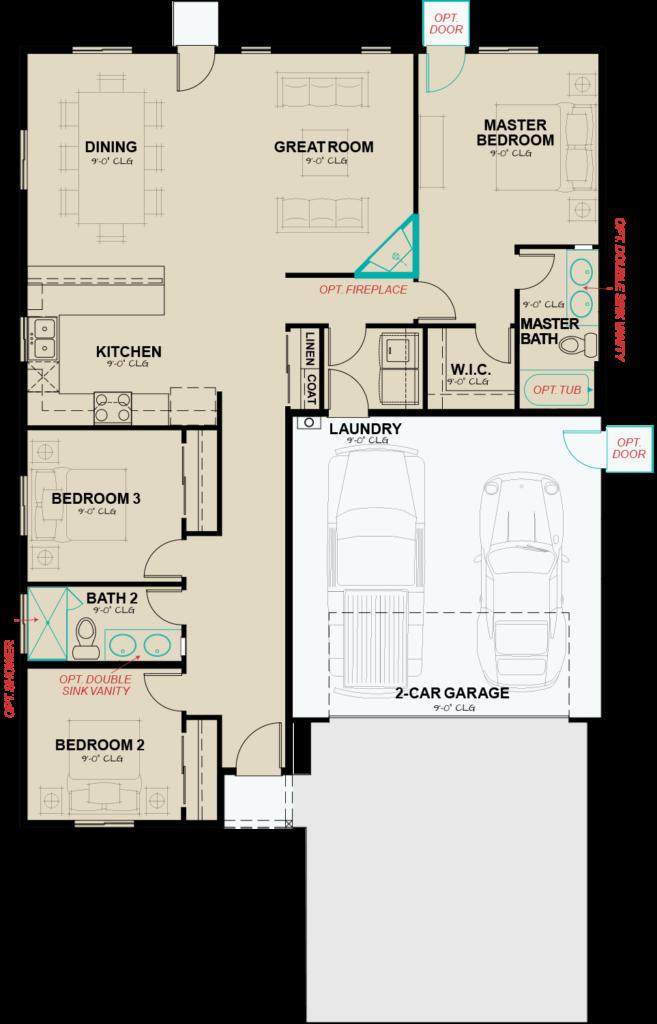 Flats-at-Ponderosa-Plan-2-1441-options-floorplan