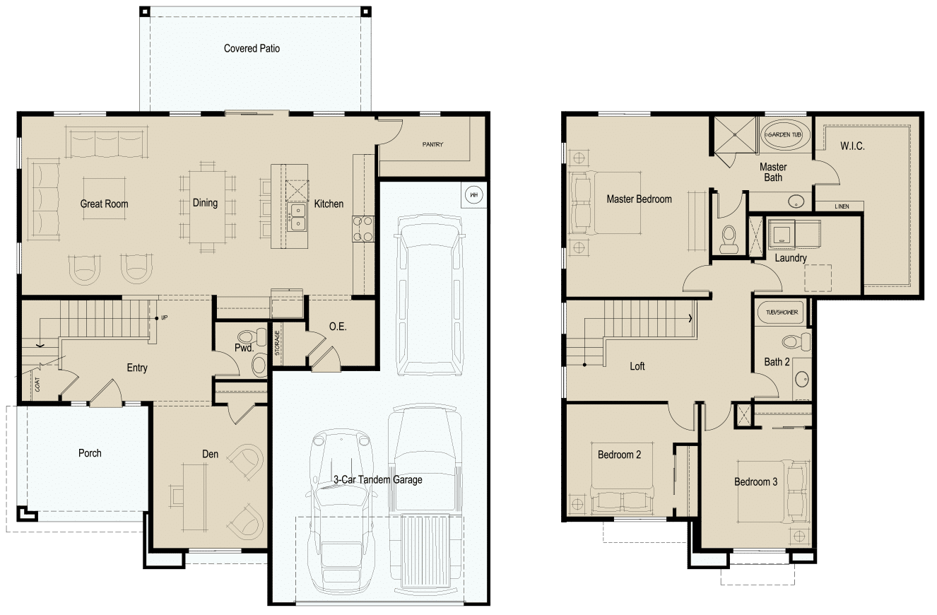 The Ridge • Plan 5-2278 • Base